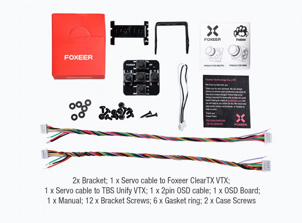 Foxeer Predator Mini V4 1.8mm FPV UK store
