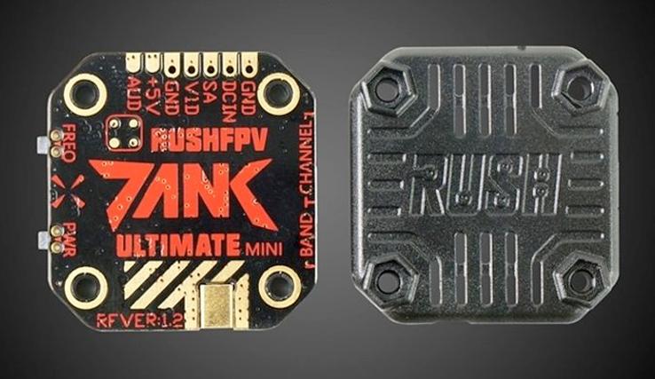 RUSH fpv Tank ULTIMATE mini VTX
