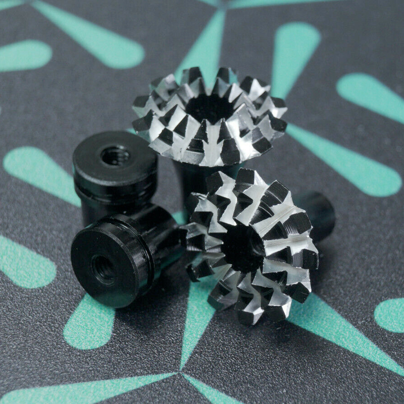 Gimbal Stick Ends Grand Lotus M3 Black / Silver – Fits TBS Tango 2