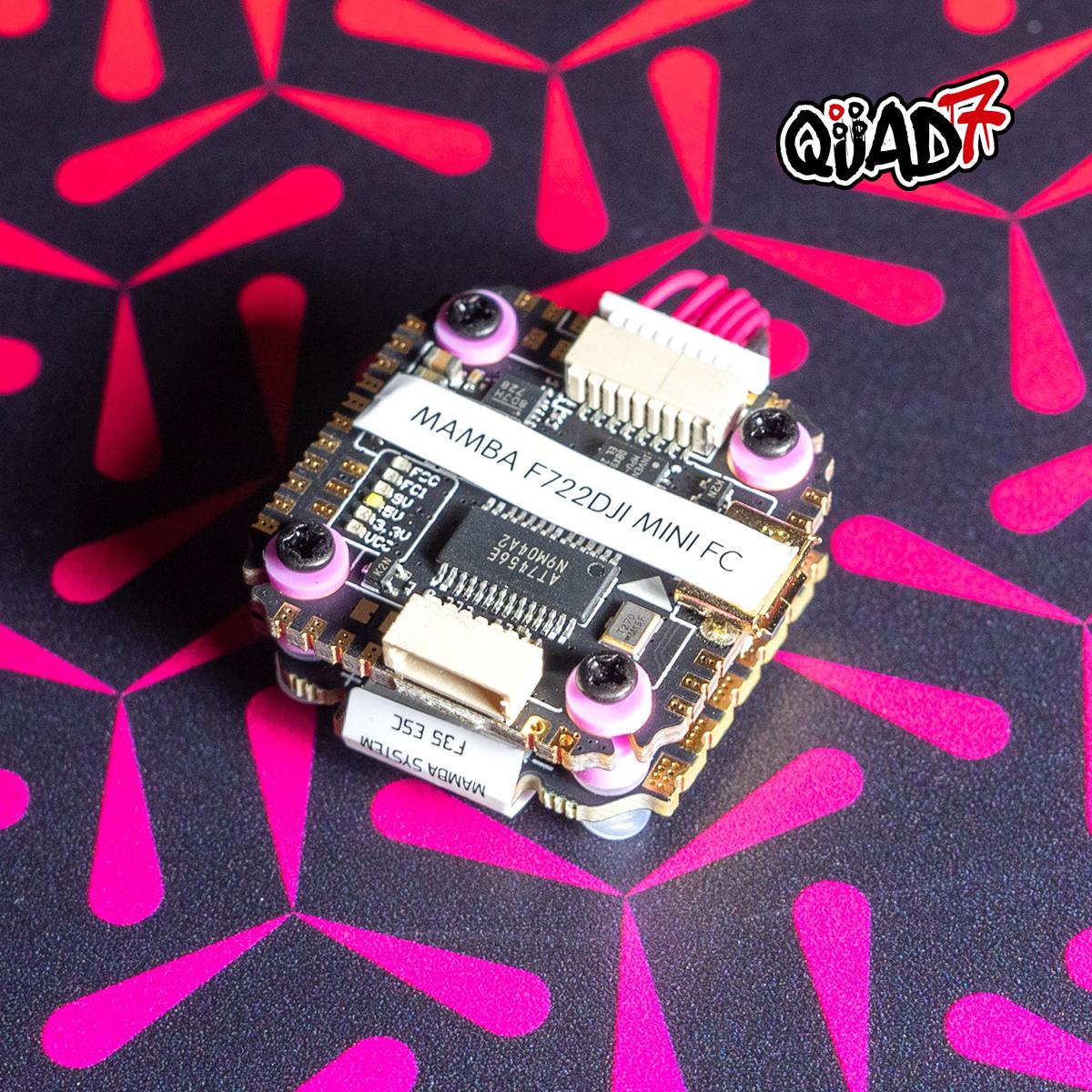 MAMBA F722 MINI MK2 Mini DJI F35 3-6S Flight Controller Stack