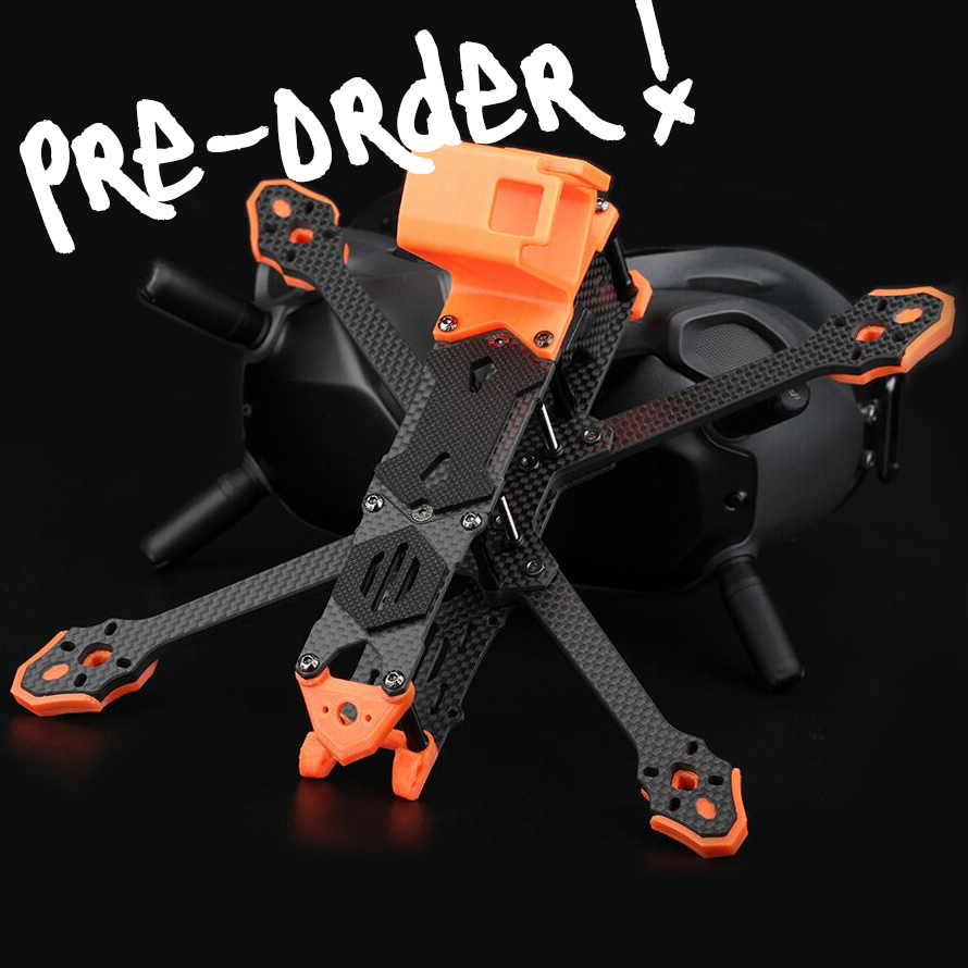 T-motor FT5 Freestyle Frame 5 Inch Fpv