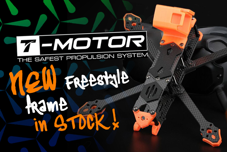 t motor ft5 freestyle fpv frame