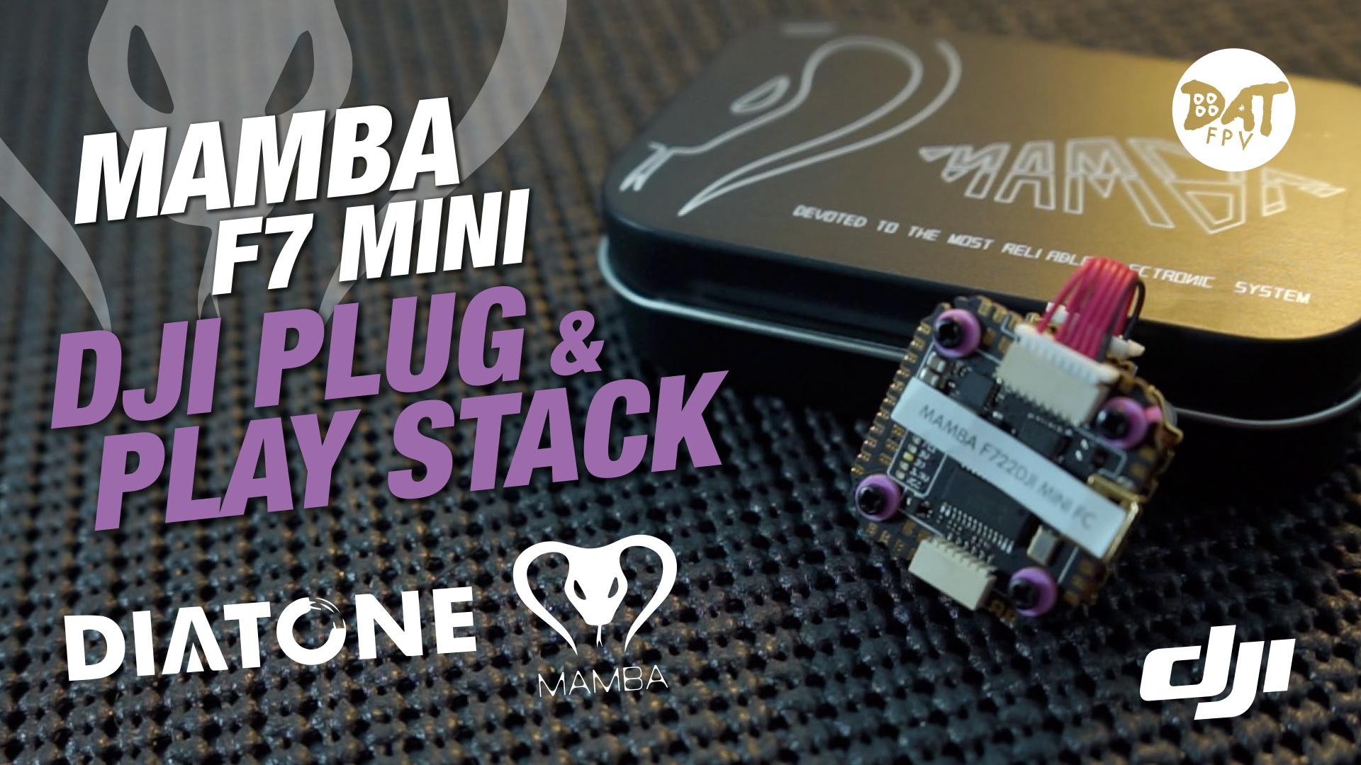 Mamba F7 Mini Stack